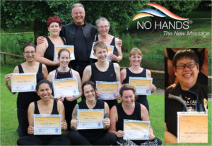 The 2017 new NO HANDS Master cohort, with Gerry Pyves